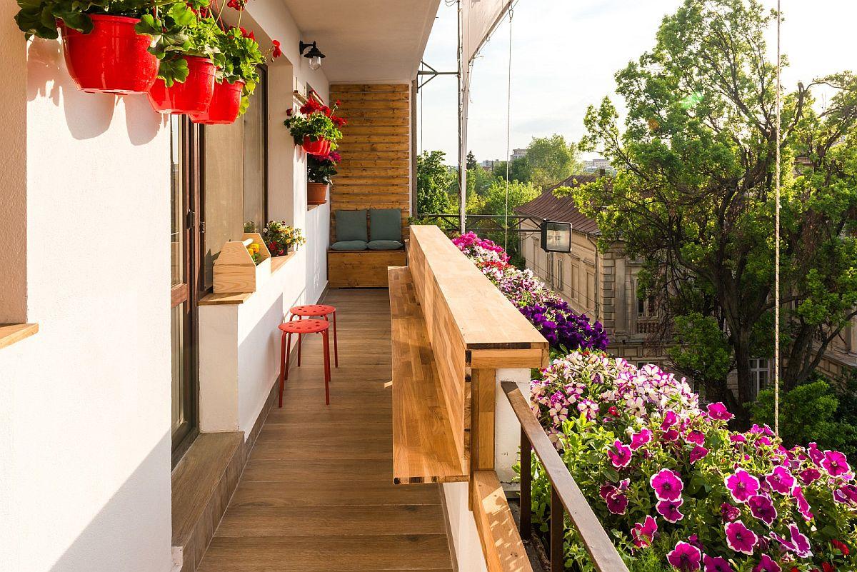 adelaparvu.com despre amenajare balcon Bucuresti, proiect Hornbach Romania (6)