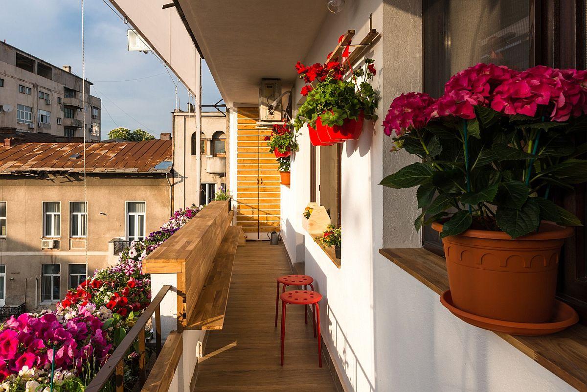 adelaparvu.com despre amenajare balcon Bucuresti, proiect Hornbach Romania (7)