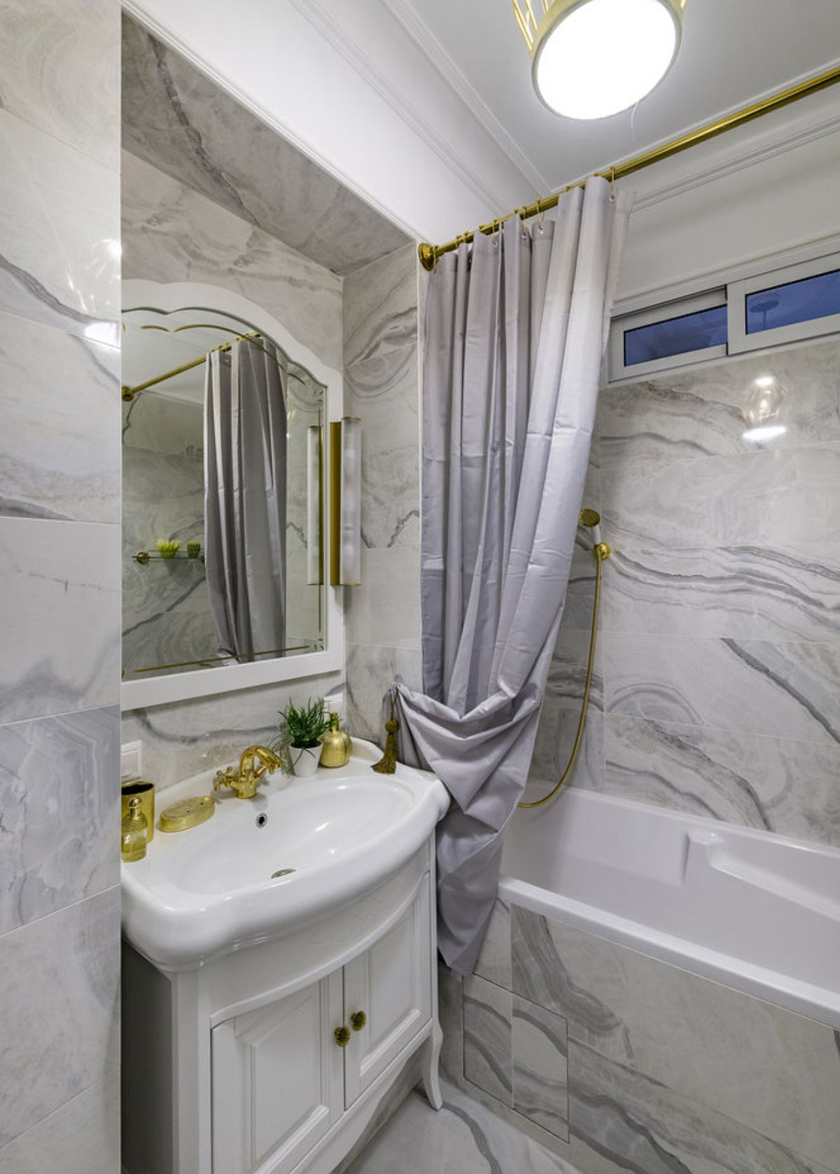 adelaparvu.com despre amenajare clasica apartament 69 mp, designer Julia Levina, Foto Sergey Kuznetsov (2)