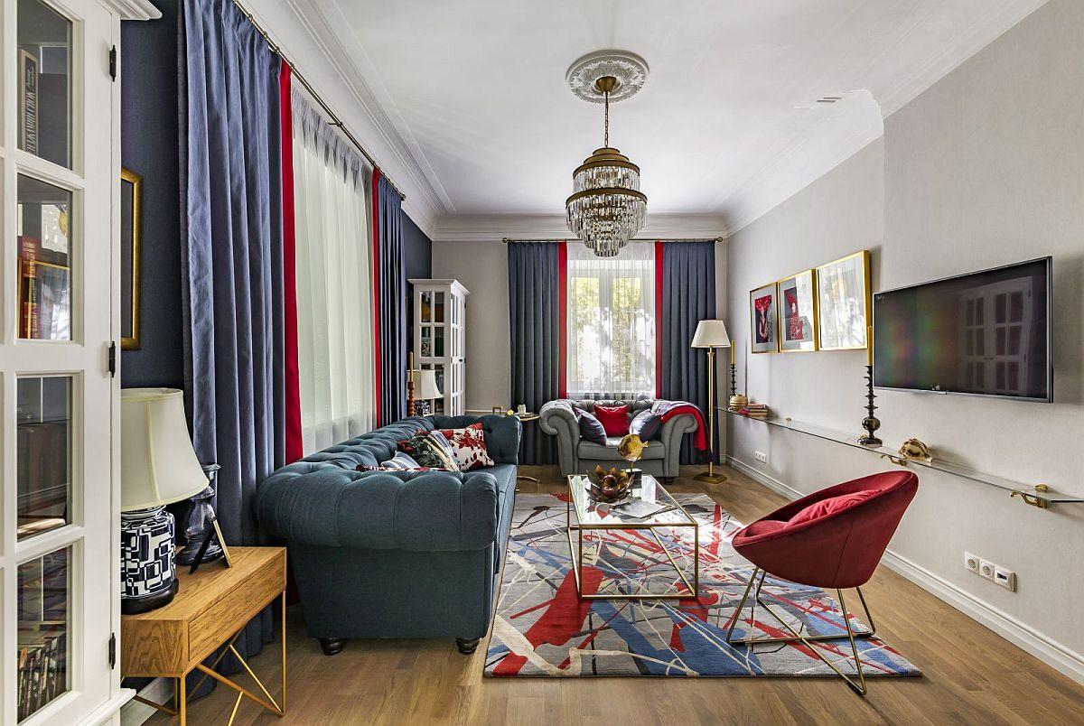 adelaparvu.com despre amenajare clasica apartament 69 mp, designer Julia Levina, Foto Sergey Kuznetsov (20)