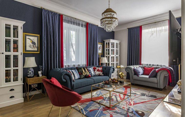 adelaparvu.com despre amenajare clasica apartament 69 mp, designer Julia Levina, Foto Sergey Kuznetsov (21)