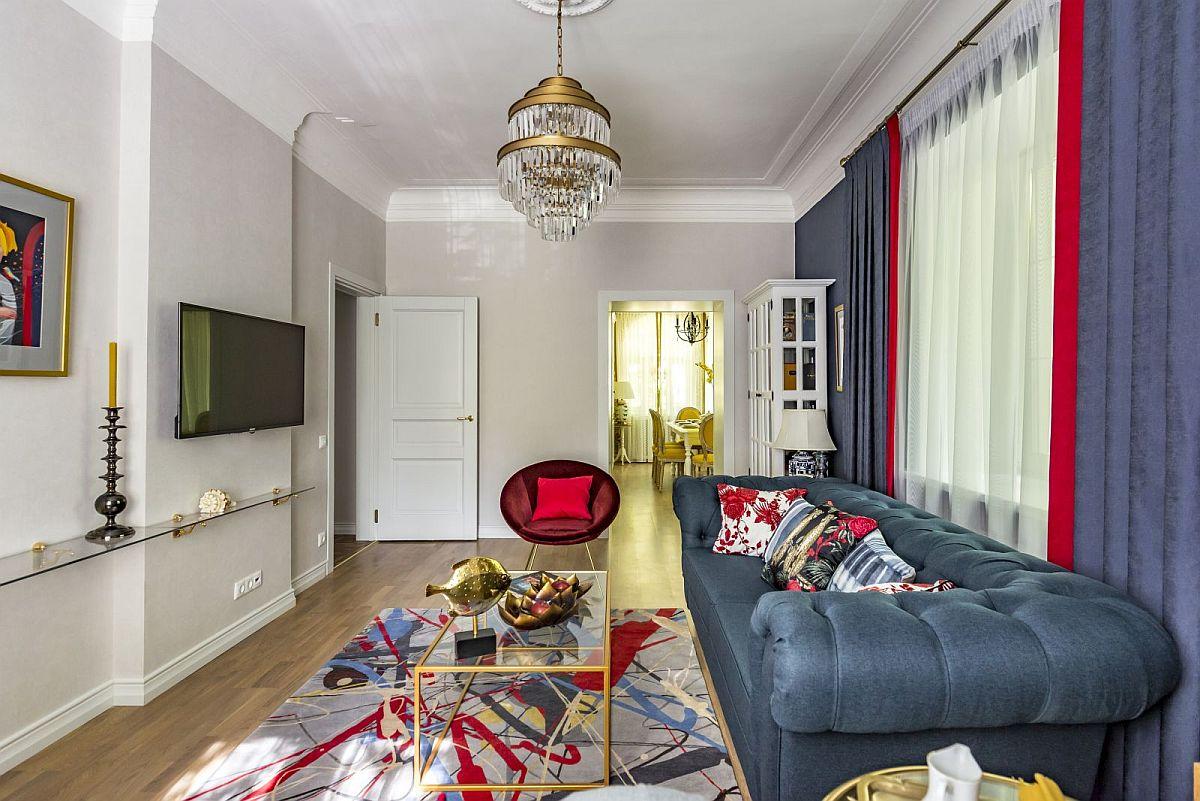 adelaparvu.com despre amenajare clasica apartament 69 mp, designer Julia Levina, Foto Sergey Kuznetsov (23)