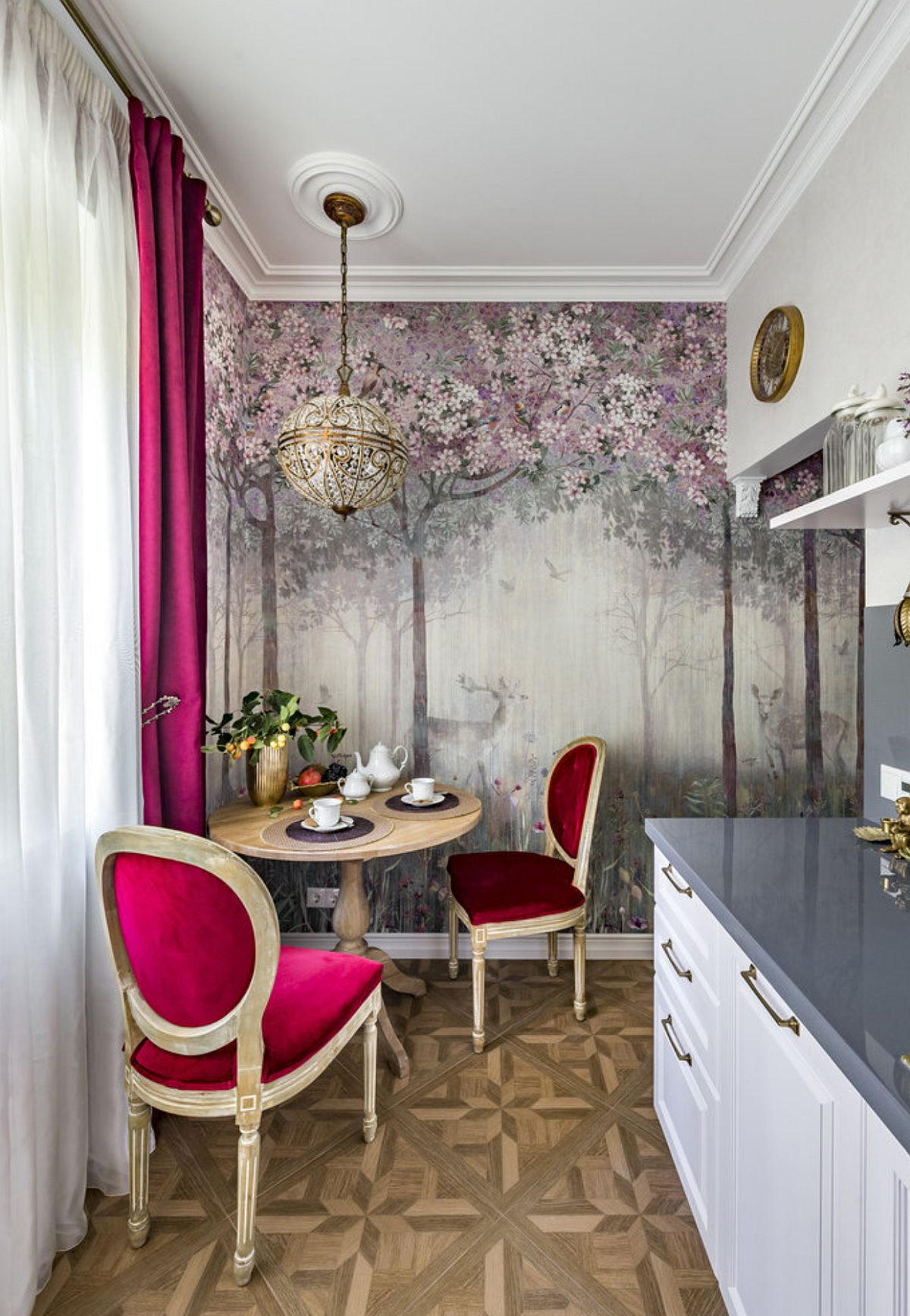 adelaparvu.com despre amenajare clasica apartament 69 mp, designer Julia Levina, Foto Sergey Kuznetsov (5)