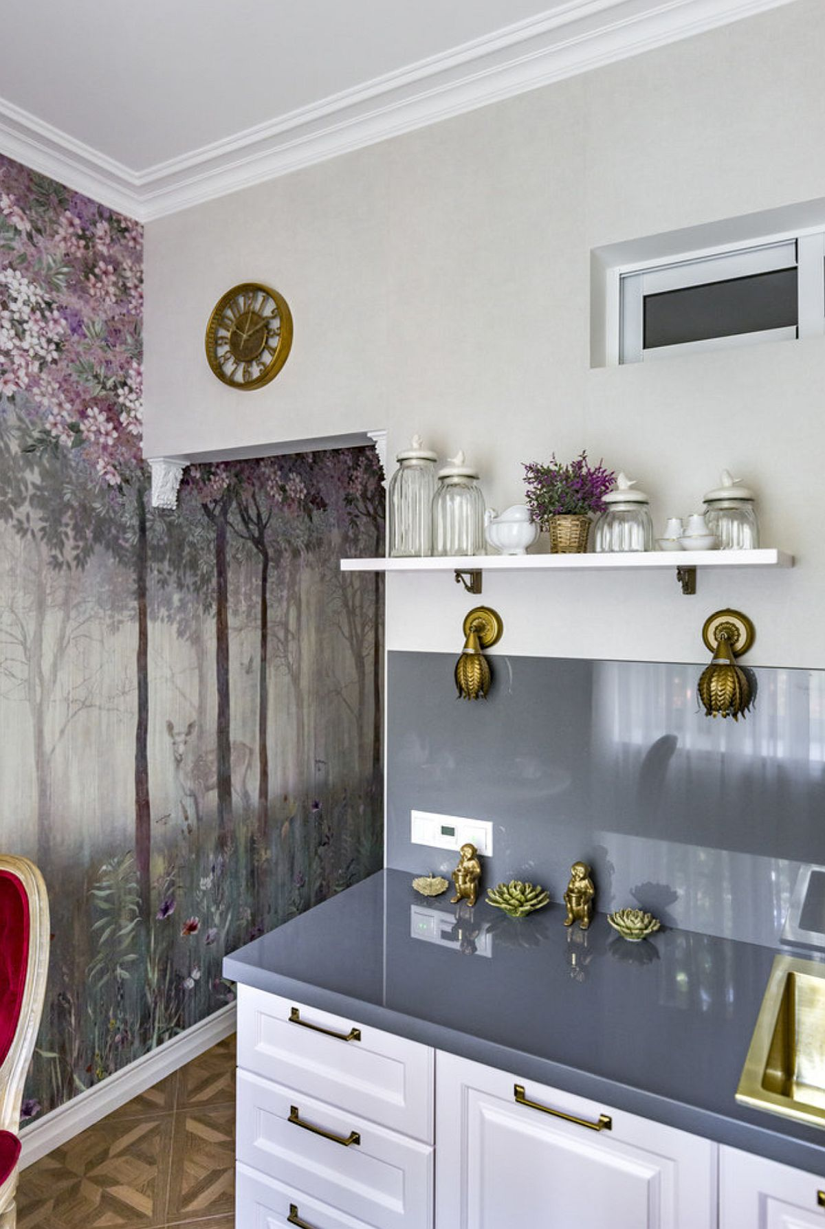 adelaparvu.com despre amenajare clasica apartament 69 mp, designer Julia Levina, Foto Sergey Kuznetsov (7)