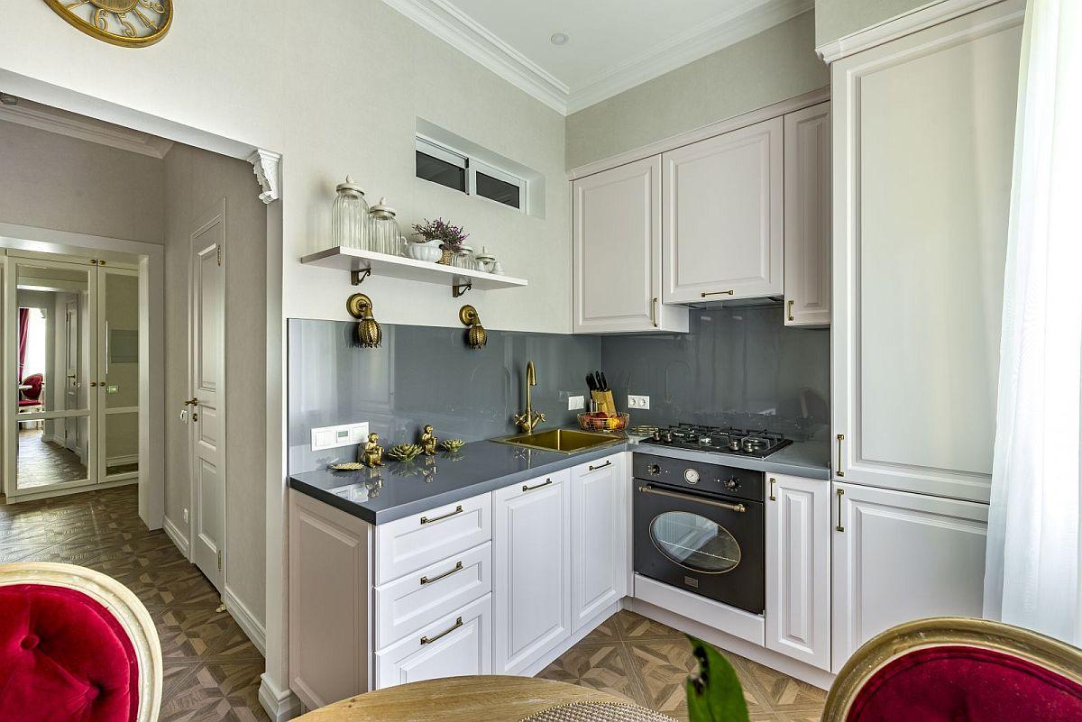 adelaparvu.com despre amenajare clasica apartament 69 mp, designer Julia Levina, Foto Sergey Kuznetsov (8)