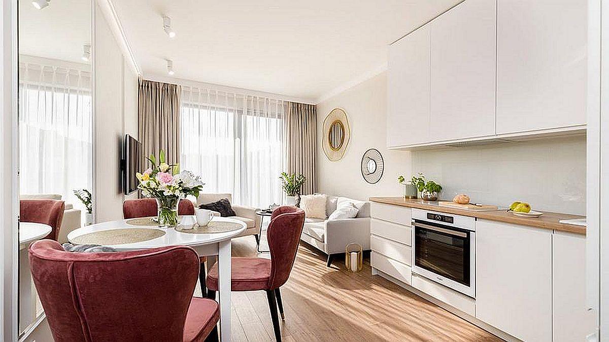 adelaparvu.com despre apartament 3 camere 49 mp, design JN Studio, Foto Lukasz Bera (9)