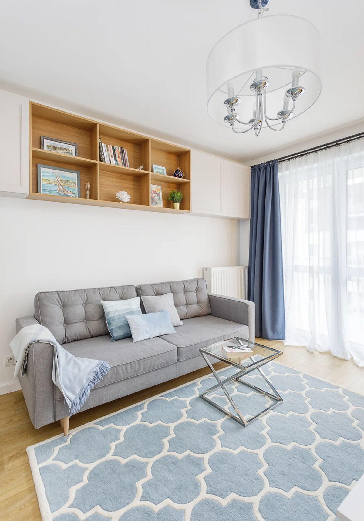 adelaparvu.com despre apartament 40 mp in stil marin, design Zawicka-ID, Foto Michal Mlynarczyk (12)