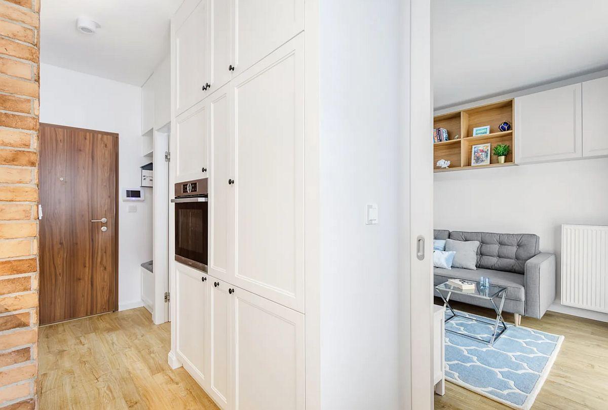 adelaparvu.com despre apartament 40 mp in stil marin, design Zawicka-ID, Foto Michal Mlynarczyk (2)