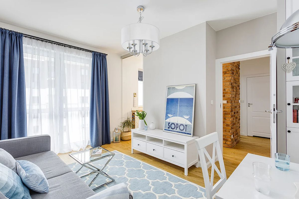 adelaparvu.com despre apartament 40 mp in stil marin, design Zawicka-ID, Foto Michal Mlynarczyk (4)