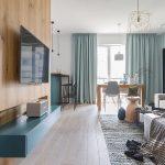 adelaparvu.com despre apartament 65 mp in culori de turcoaz, design 101wnetrz, Foto Pion Poziom (13)