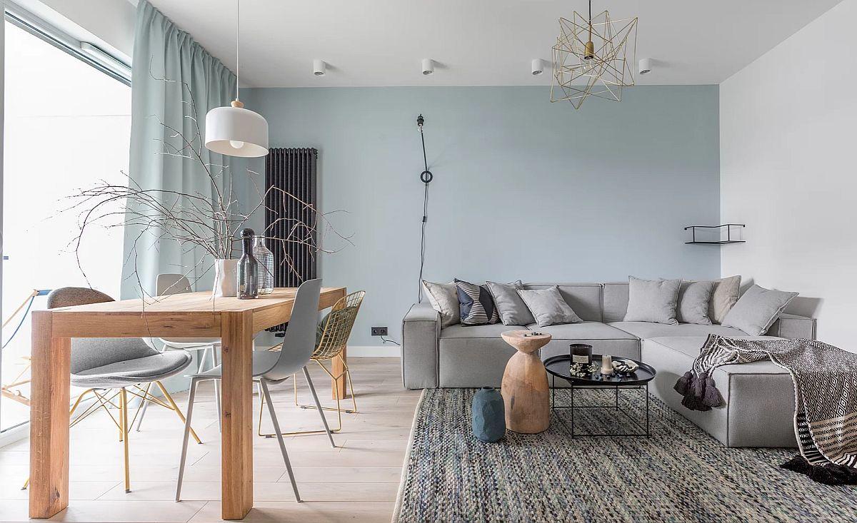 adelaparvu.com despre apartament 65 mp in culori de turcoaz, design 101wnetrz, Foto Pion Poziom (15)