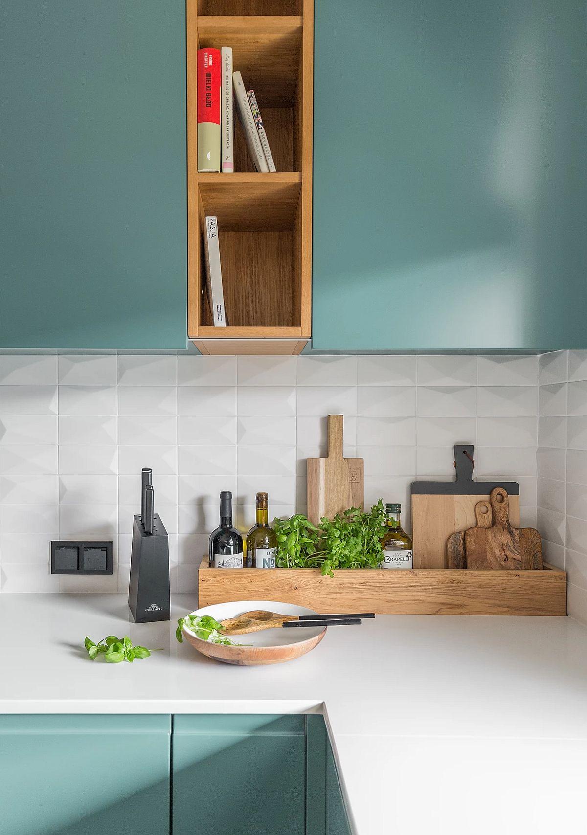 adelaparvu.com despre apartament 65 mp in culori de turcoaz, design 101wnetrz, Foto Pion Poziom (18)