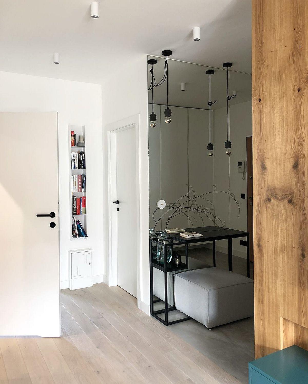 adelaparvu.com despre apartament 65 mp in culori de turcoaz, design 101wnetrz, Foto Pion Poziom (2)