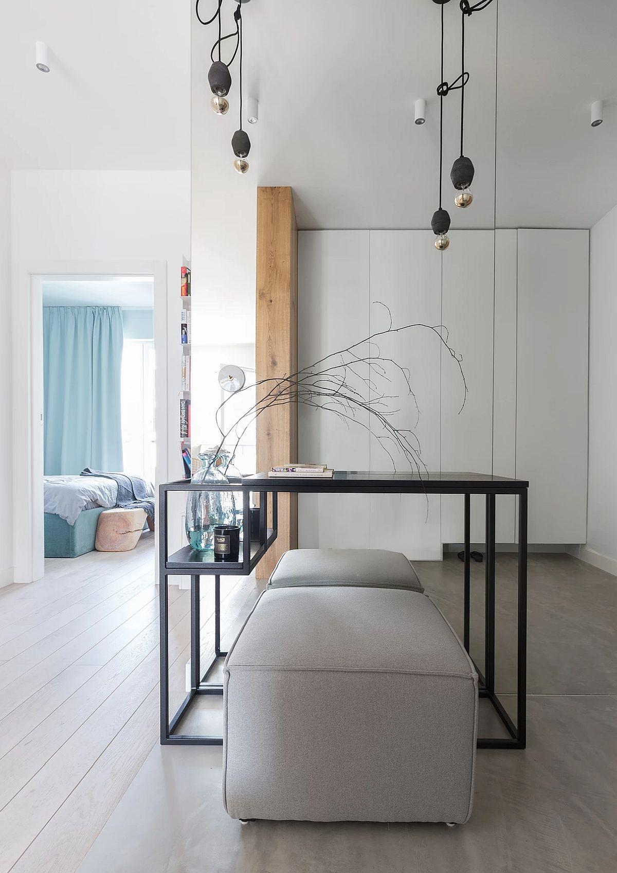 adelaparvu.com despre apartament 65 mp in culori de turcoaz, design 101wnetrz, Foto Pion Poziom (3)