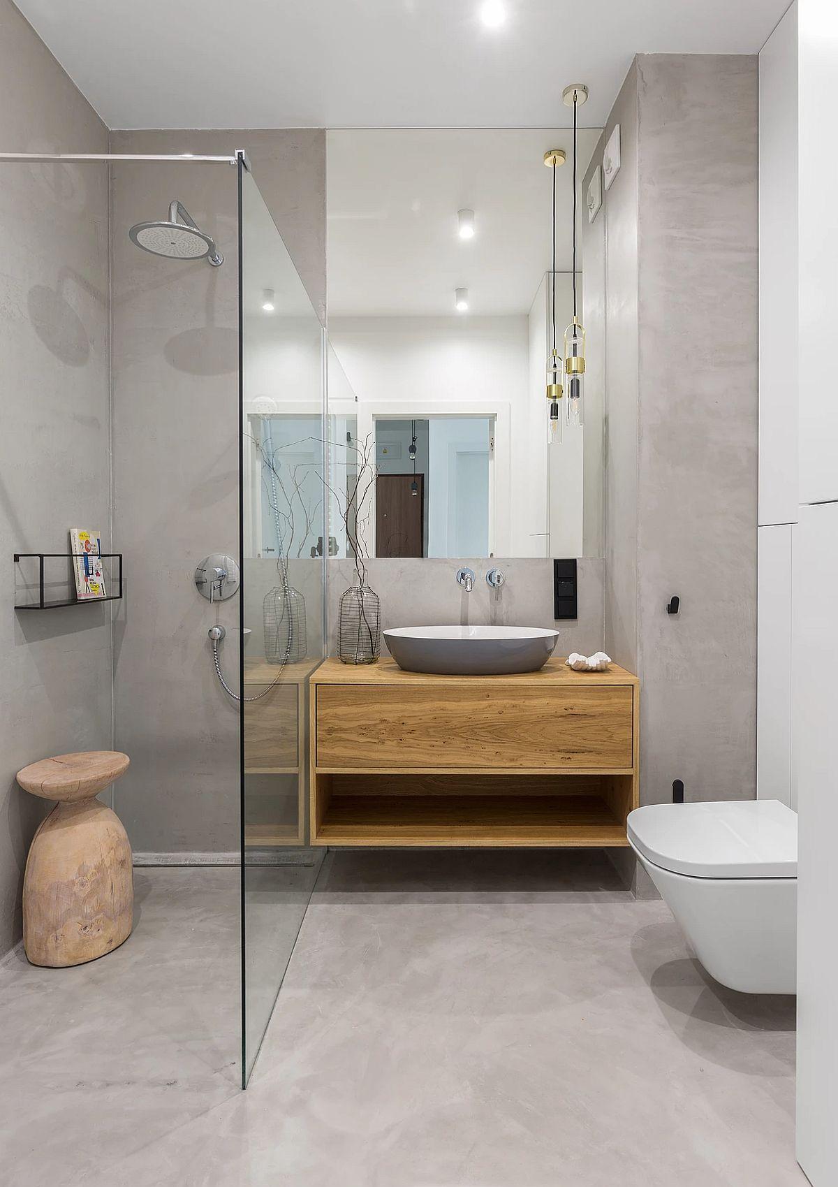 adelaparvu.com despre apartament 65 mp in culori de turcoaz, design 101wnetrz, Foto Pion Poziom (5)
