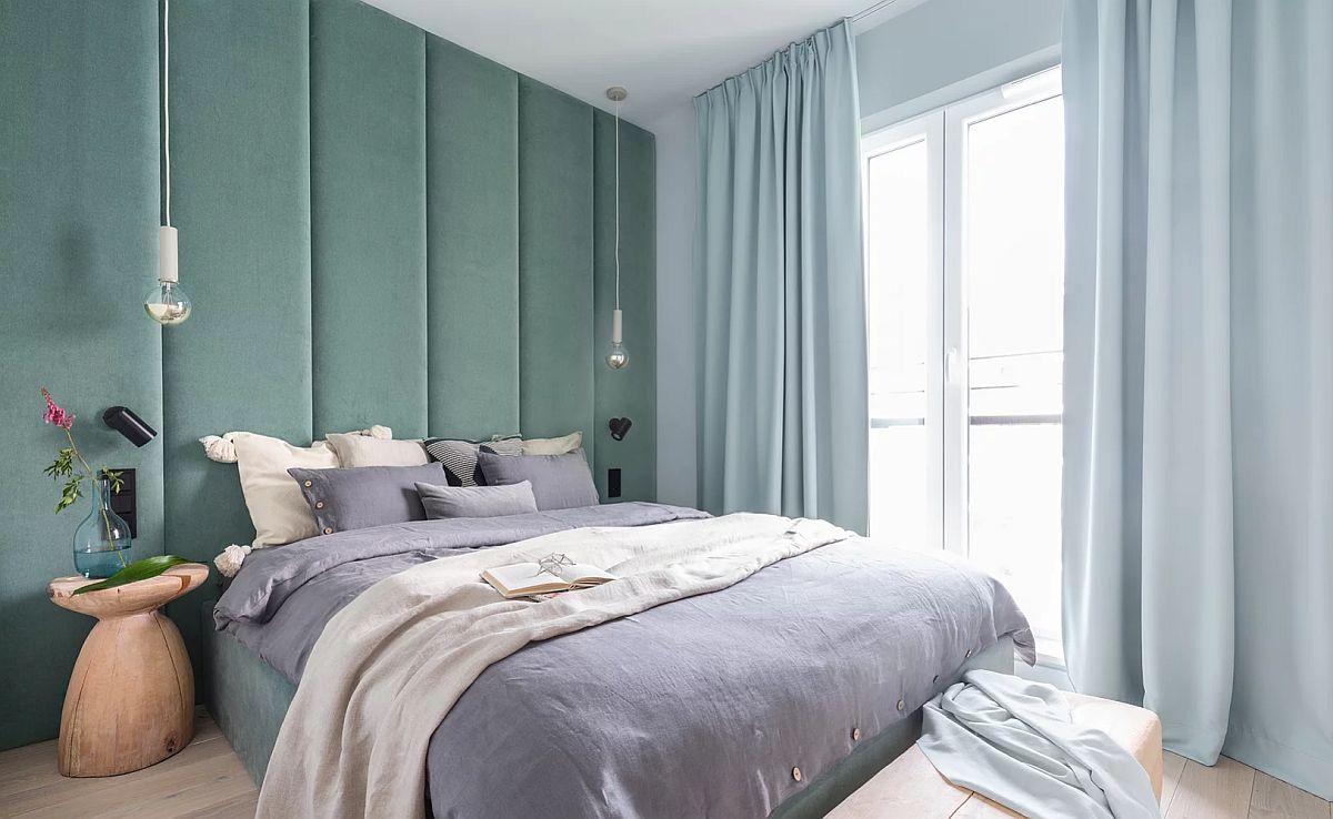 adelaparvu.com despre apartament 65 mp in culori de turcoaz, design 101wnetrz, Foto Pion Poziom (9)