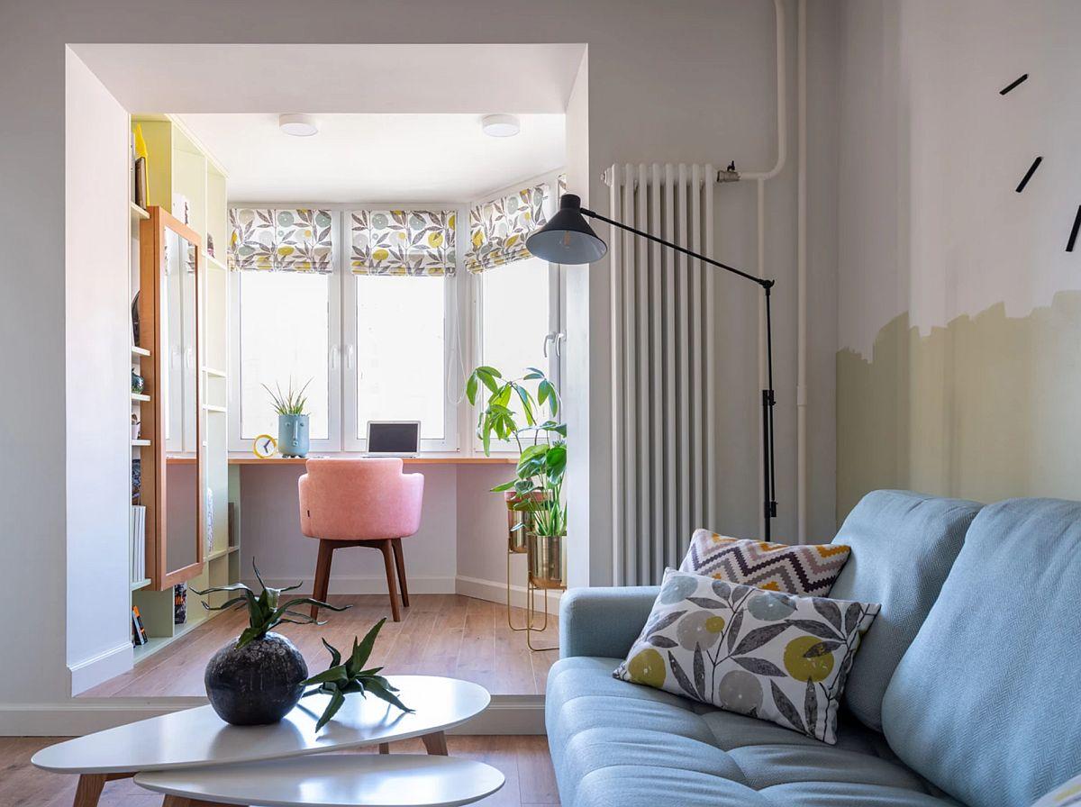 adelaparvu.com despre apartament 67 mp pentru familie cu copil, design Anna Morozova, Foto Dina Alexandrova (9)