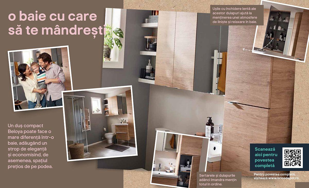 adelaparvu.com despre baie de bloc 4,5 mp, Bricodepot, Good Home (1)