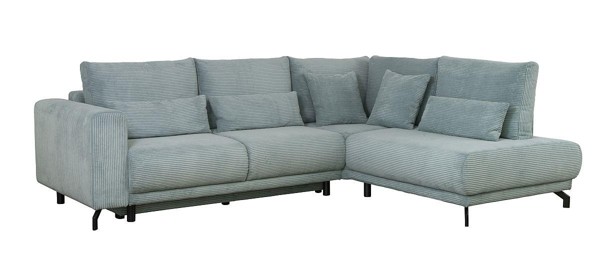 Colțar Modest extensibil. Include funcție pat și ladă pentru depozitare. Tapițerie tip reiat. Disponibilă pe comandă și în alte culori. Dimesniuni și preț VEZI AICI.