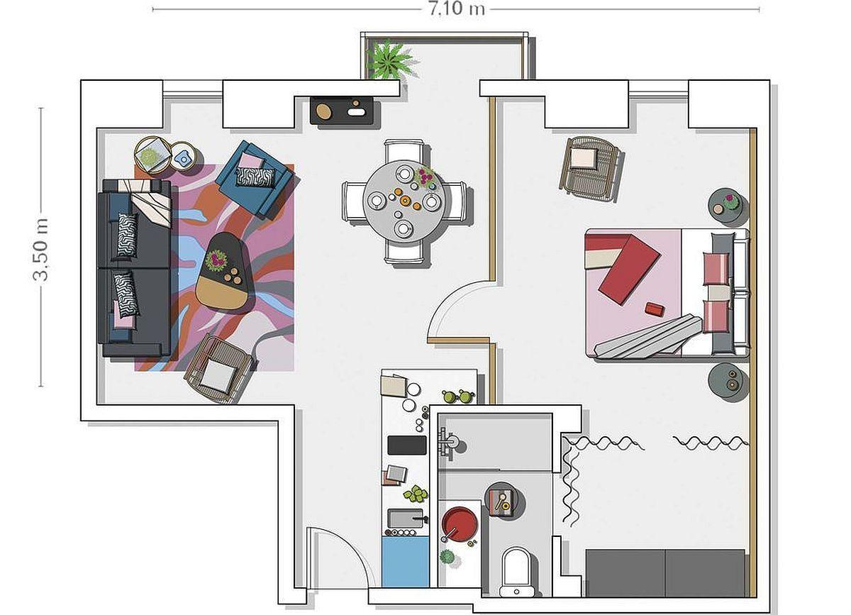 adelaparvu.com despre mansarda 45 mp, design Aedificare, Foto David Montero (13)