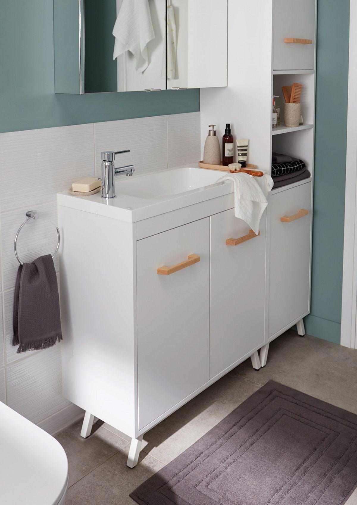 adelaparvu.com despre mobila de baie Ladoga, Bricodepot, Good Home