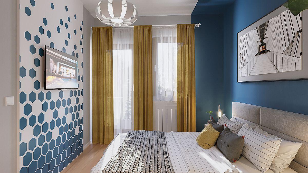 adelaparvu.com despre proiect amenajare apartament 48 mp pentru inchiriere, design arh. Andreea Besliu (10)