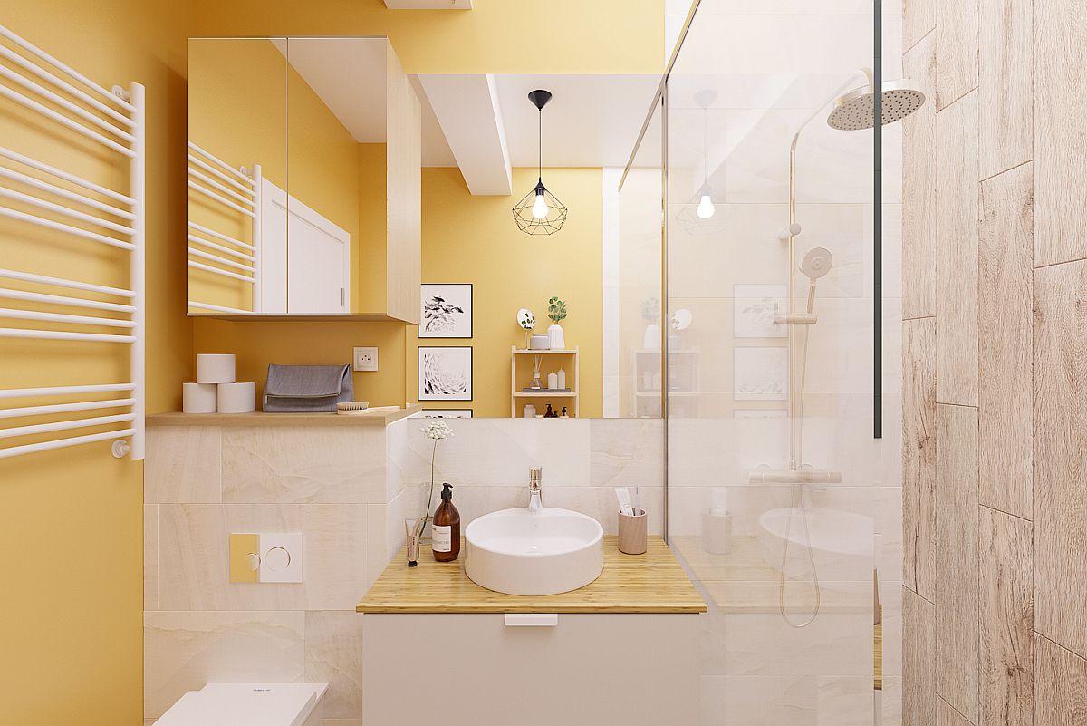 adelaparvu.com despre proiect amenajare apartament 48 mp pentru inchiriere, design arh. Andreea Besliu 20 (1)