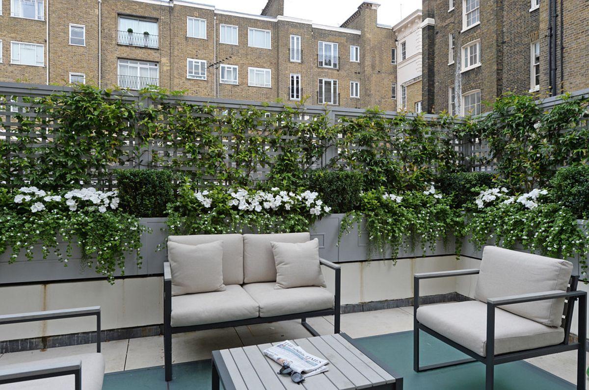 adelaparvu.com despre solutie de a masca balconul, Foto The Garden Trellis (1)