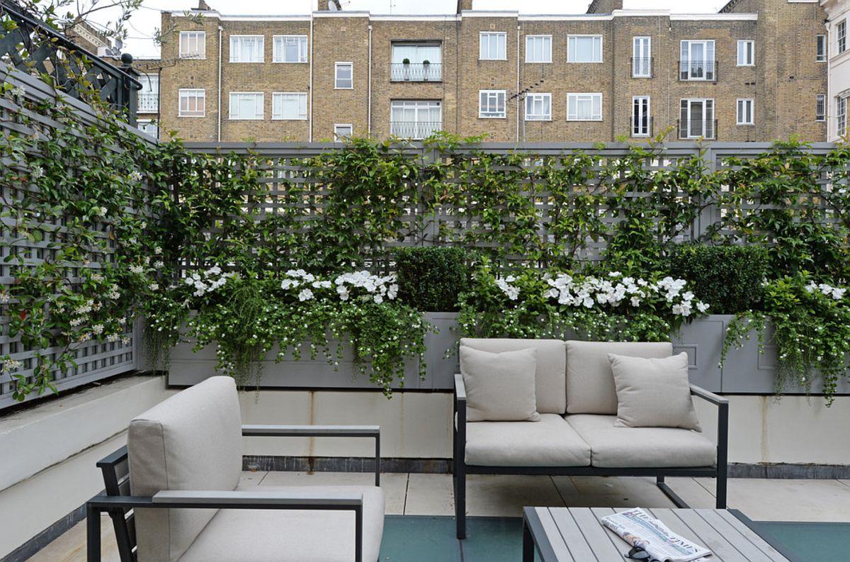 adelaparvu.com despre solutie de a masca balconul, Foto The Garden Trellis (2)
