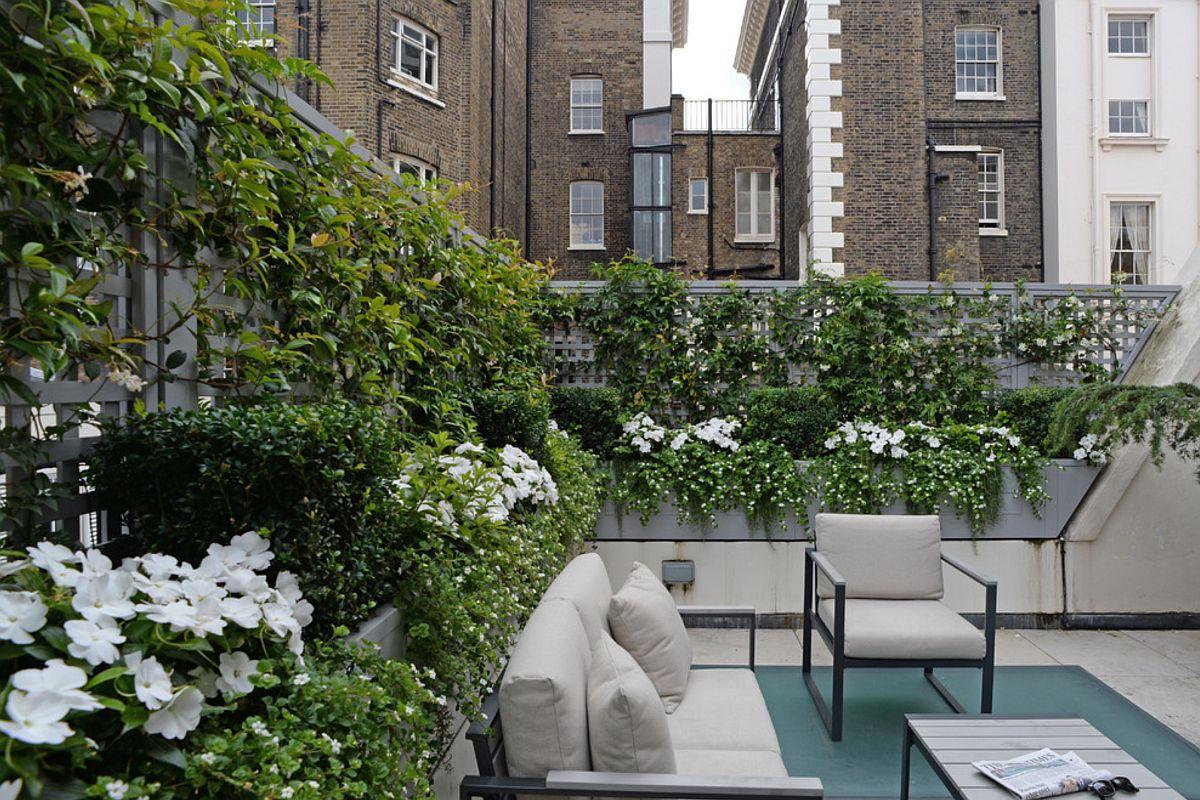 adelaparvu.com despre solutie de a masca balconul, Foto The Garden Trellis (3)