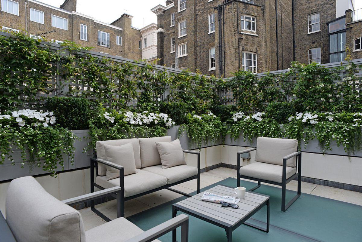 adelaparvu.com despre solutie de a masca balconul, Foto The Garden Trellis (4)