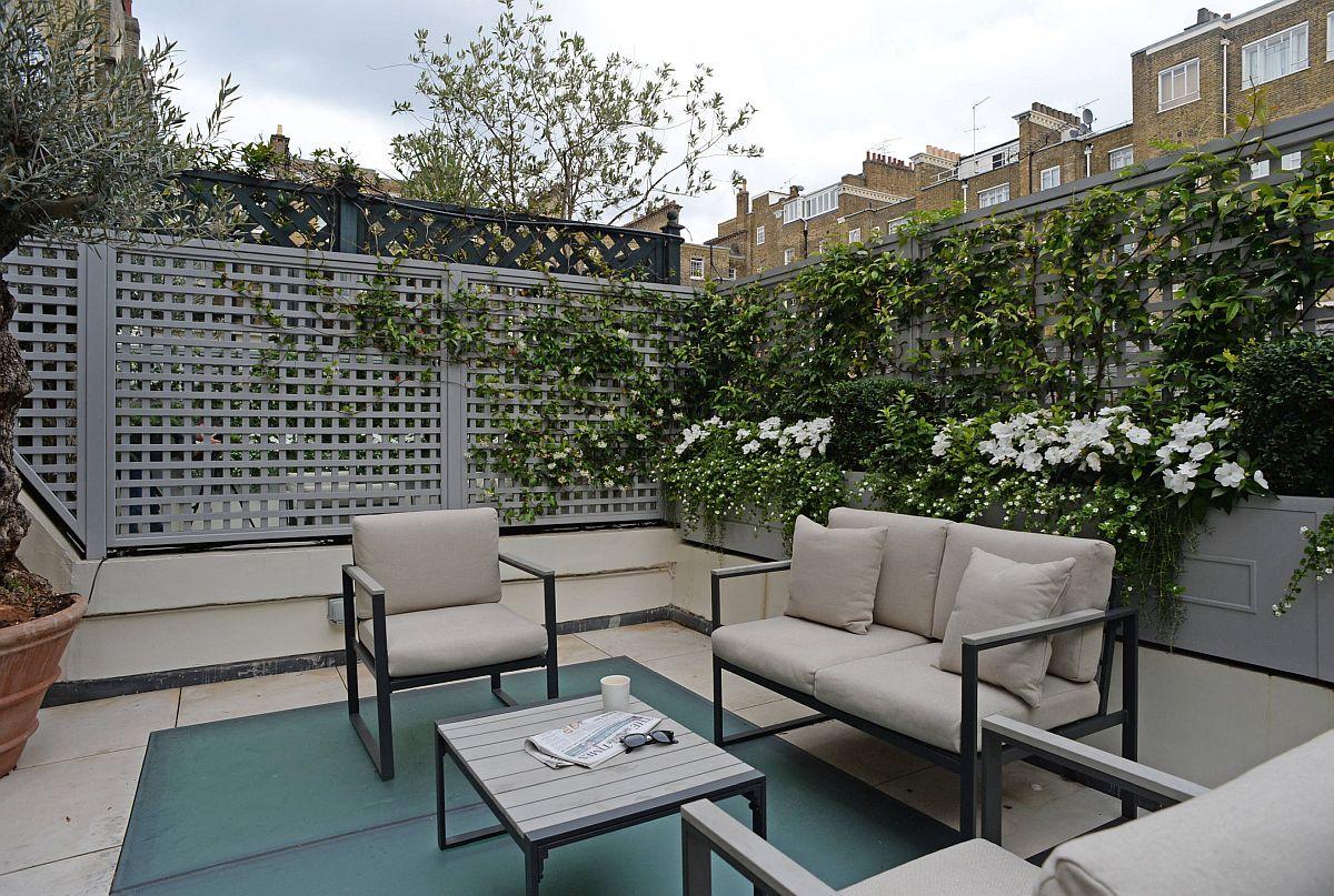 adelaparvu.com despre solutie de a masca balconul, Foto The Garden Trellis (5)