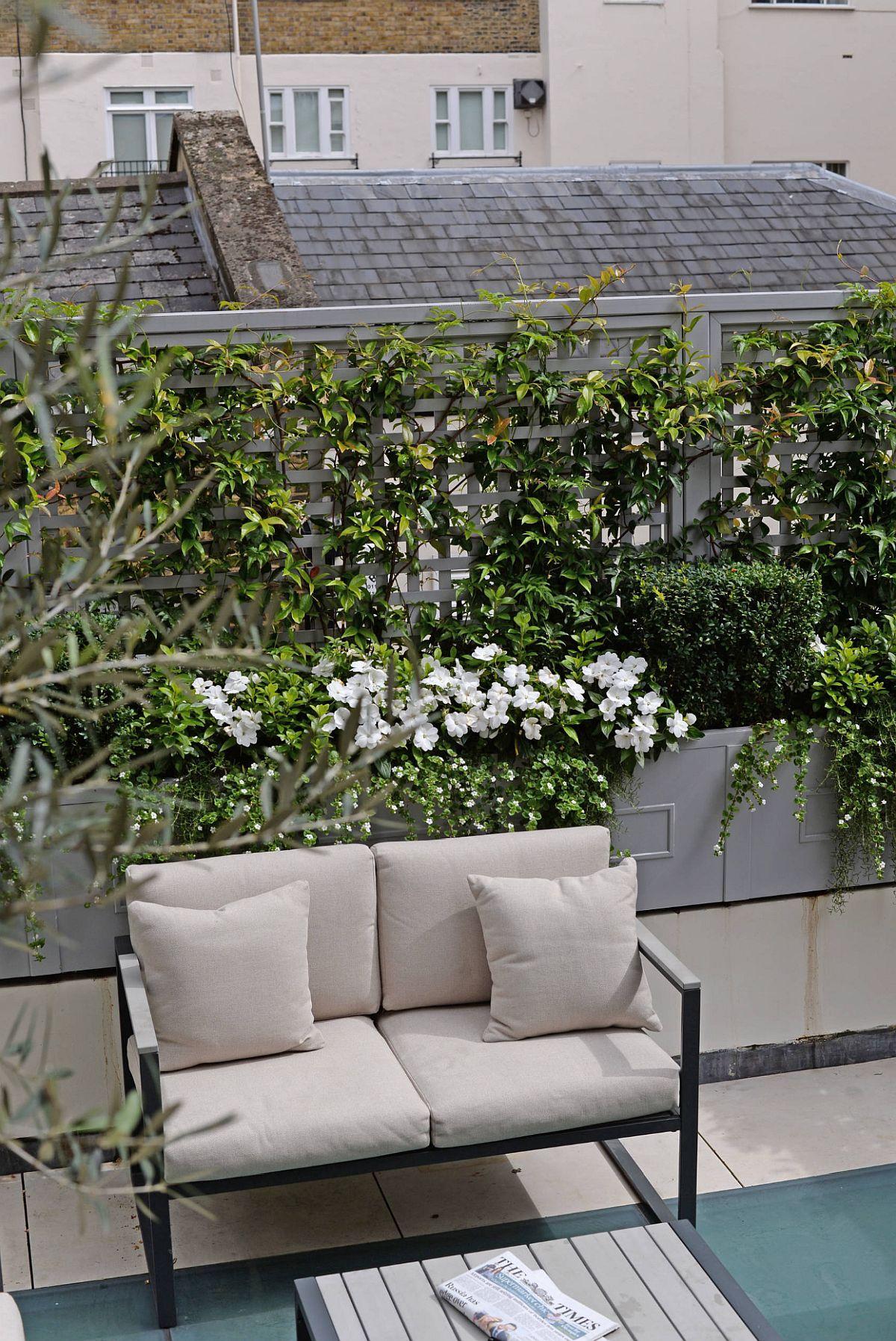 adelaparvu.com despre solutie de a masca balconul, Foto The Garden Trellis (7)