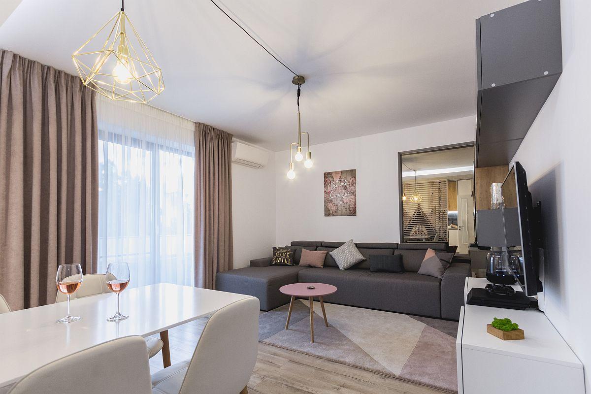 adelaparvu.com despre amenajare apartament 3 camere Bucuresti, designer Cristina Micu (20)