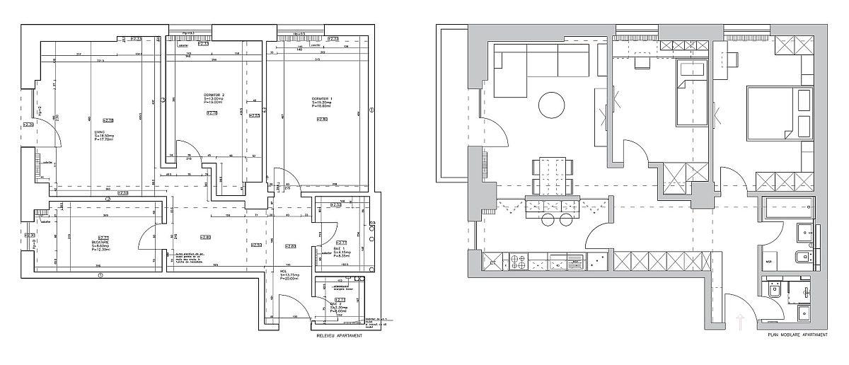 adelaparvu.com despre amenajare apartament 3 camere Bucuresti, designer Cristina Micu (21)