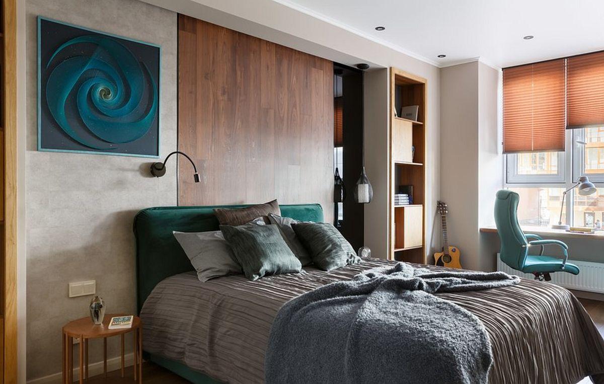 adelaparvu.com despre amenajare studio 44 mp, designer Julia Kaufeldt, Foto Ivan Sorokin (10)