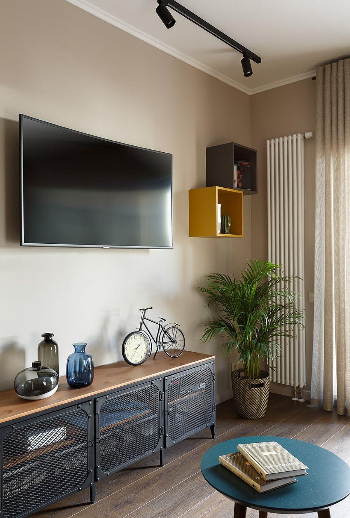 adelaparvu.com despre amenajare studio 44 mp, designer Julia Kaufeldt, Foto Ivan Sorokin (5)