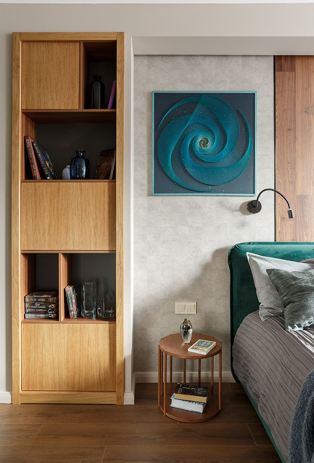 adelaparvu.com despre amenajare studio 44 mp, designer Julia Kaufeldt, Foto Ivan Sorokin (9)