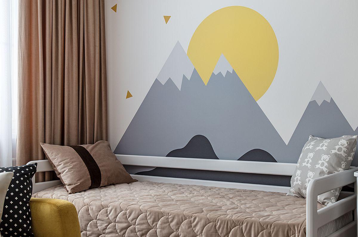 adelaparvu.com despre amenajarea apartament 2 camere pentru familie de 5 persoane, design Helenka Design, Foto Foto Boris Bochkarev (1)