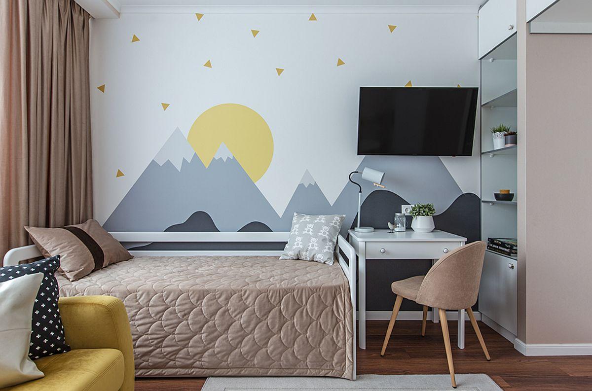 adelaparvu.com despre amenajarea apartament 2 camere pentru familie de 5 persoane, design Helenka Design, Foto Foto Boris Bochkarev (17)