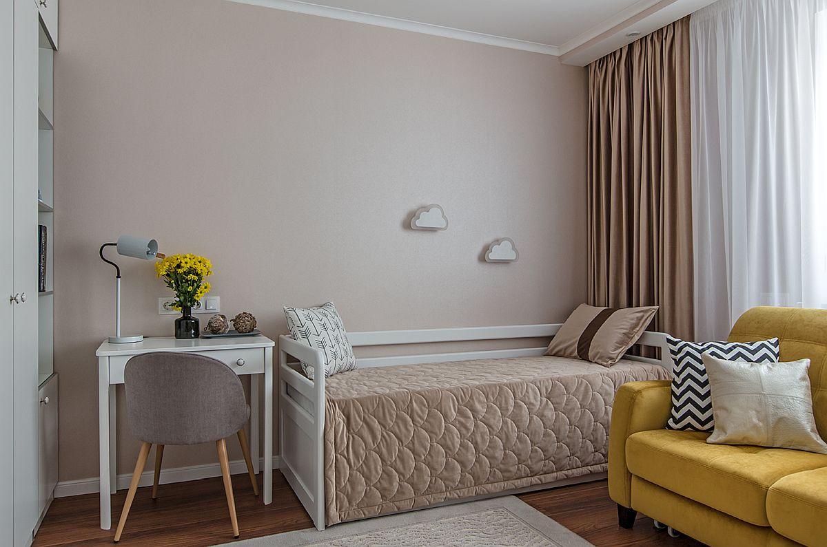 adelaparvu.com despre amenajarea apartament 2 camere pentru familie de 5 persoane, design Helenka Design, Foto Foto Boris Bochkarev (19)