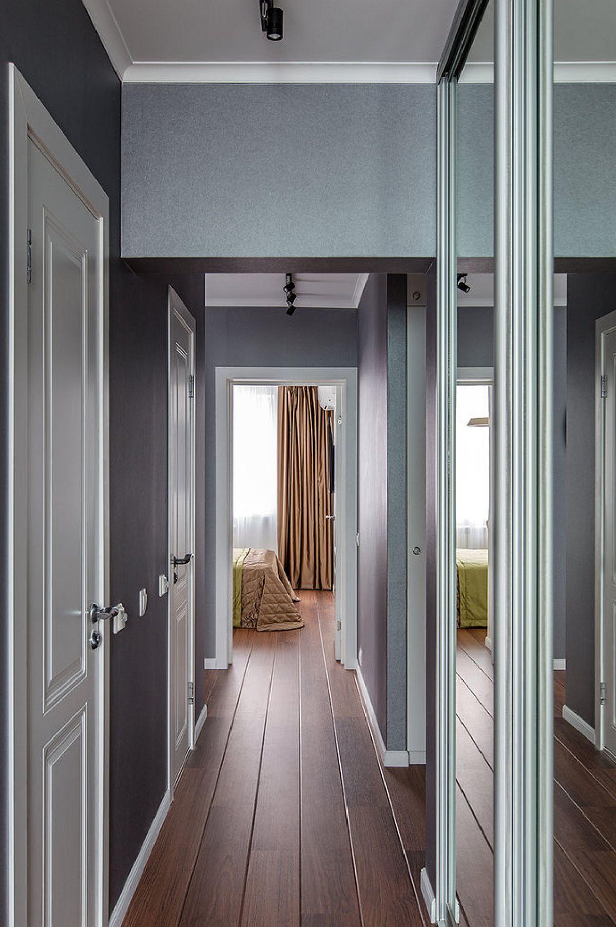 adelaparvu.com despre amenajarea apartament 2 camere pentru familie de 5 persoane, design Helenka Design, Foto Foto Boris Bochkarev (6)
