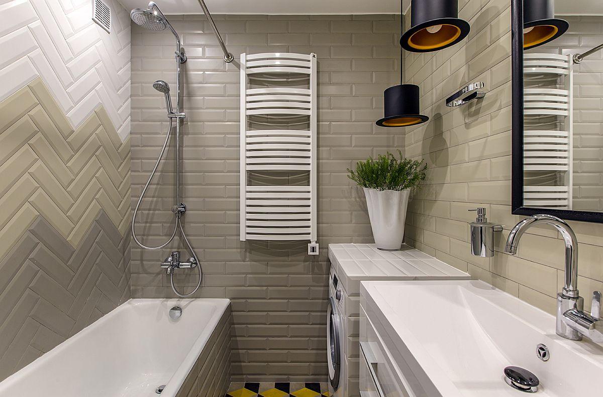 adelaparvu.com despre amenajarea apartament 2 camere pentru familie de 5 persoane, design Helenka Design, Foto Foto Boris Bochkarev (9)