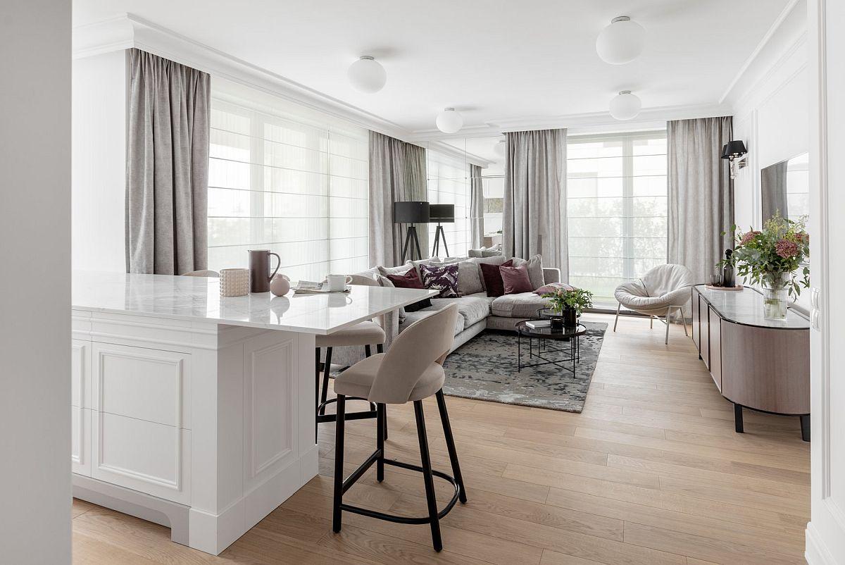 adelaparvu.com despre apartament 80 mp cu pereti albi elegant amenajat, design JT Grupa, Foto Ayuko Studio (2)