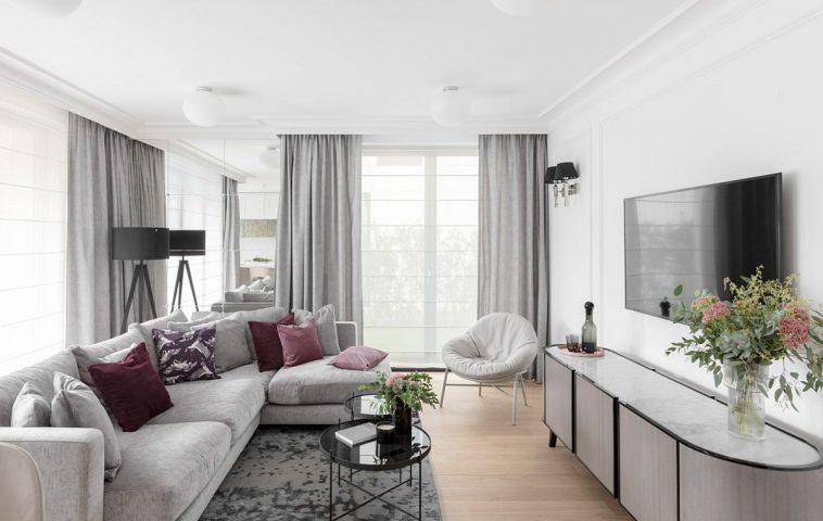 adelaparvu.com despre apartament 80 mp cu pereti albi elegant amenajat, design JT Grupa, Foto Ayuko Studio (3)