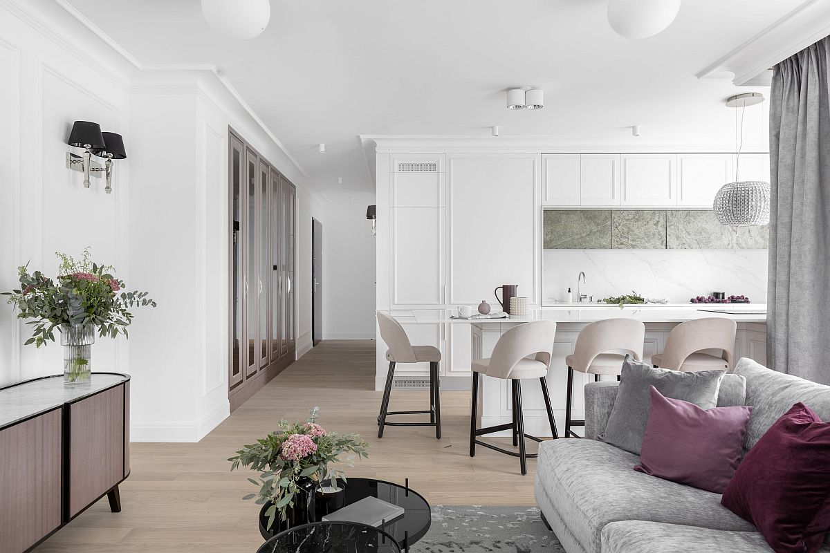 adelaparvu.com despre apartament 80 mp cu pereti albi elegant amenajat, design JT Grupa, Foto Ayuko Studio (4)