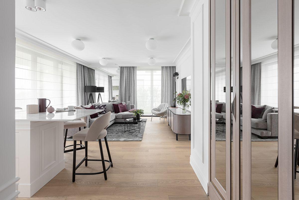 adelaparvu.com despre apartament 80 mp cu pereti albi elegant amenajat, design JT Grupa, Foto Ayuko Studio (5)