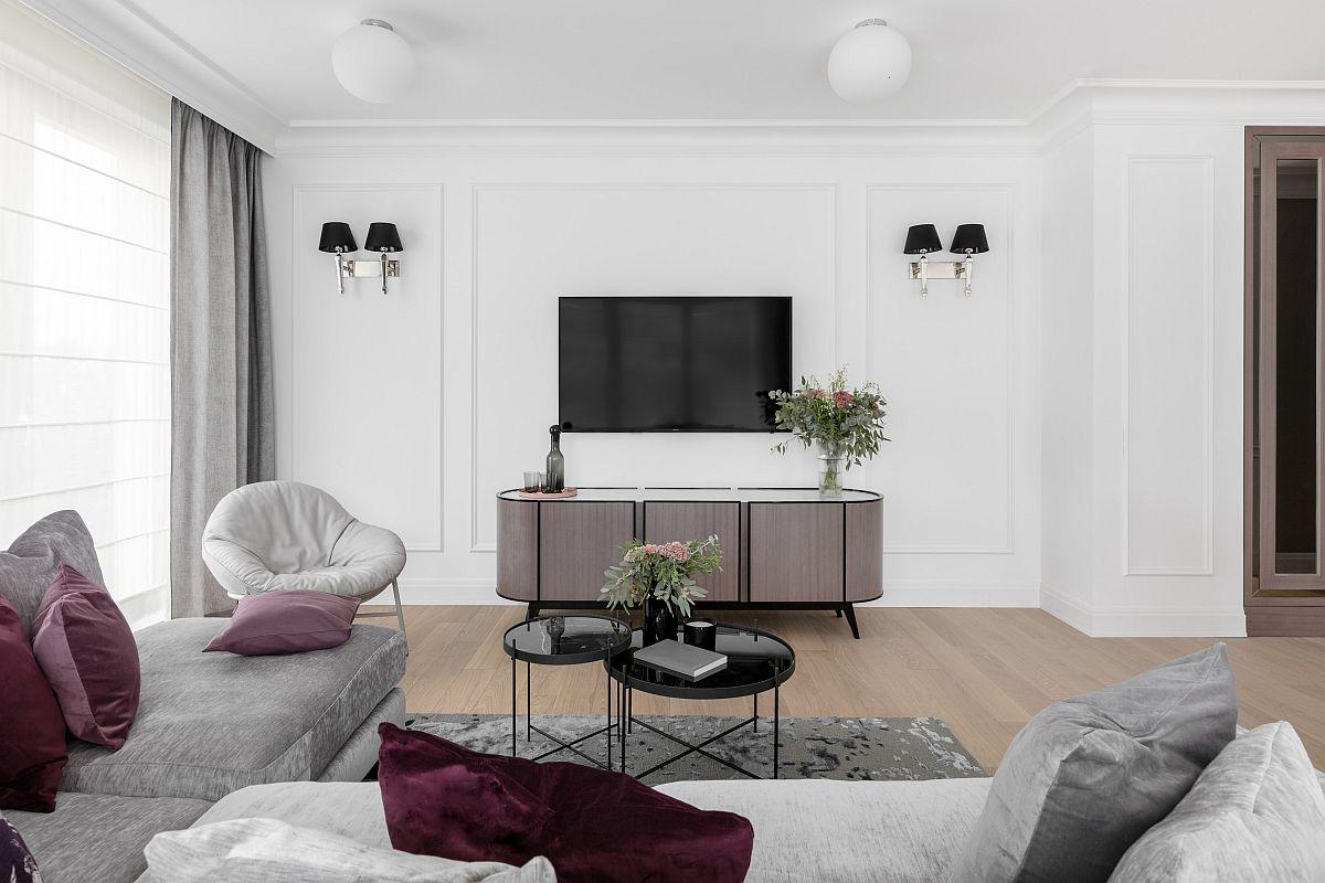 adelaparvu.com despre apartament 80 mp cu pereti albi elegant amenajat, design JT Grupa, Foto Ayuko Studio (6)