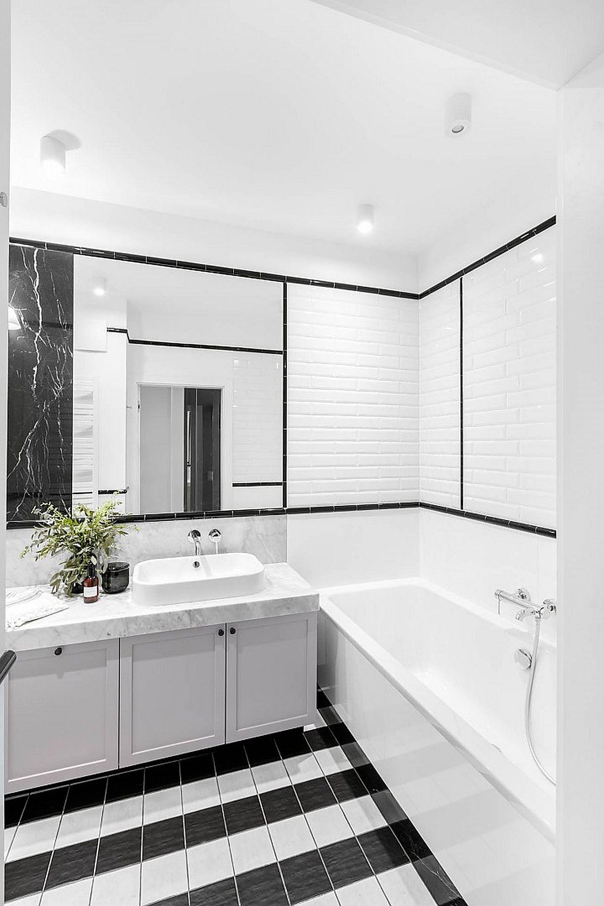 adelaparvu.com despre apartament 80 mp cu pereti albi elegant amenajat, design JT Grupa, Foto Ayuko Studio (9)
