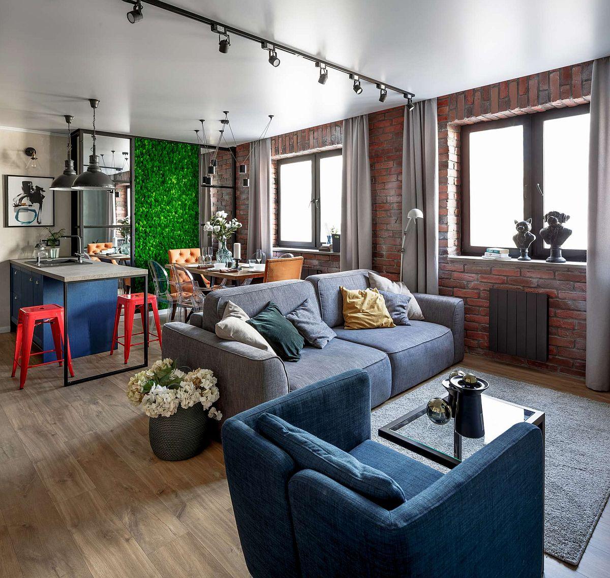 adelaparvu.com despre apartament 91 mp pentru o familie cu 4 copii, designer Aigul Sultanova, Foto Roman Spiridonov (1)
